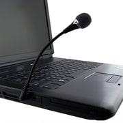 Insten® 370744 VOIP/SKYPE Mini Flexible Microphone, Black