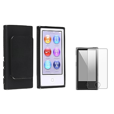 Insten® 954428 2 Piece Case Bundle For iPod nano 7th Gen