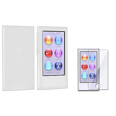 Insten® 857277 2 Piece Case Bundle For iPod nano 7th Gen