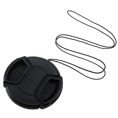 Insten® Camera Lens Cap For 55 mm Filter/Adapter/Lens, Black