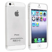 Insten® Hard Plastic Snap-in Slim Case For Apple iPhone 5/5S, Clear