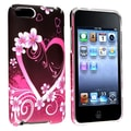 Insten® Rubber Coated Snap-in Case For iPod Touch 2nd/3rd Gen, Purple Love