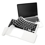 "Insten® Keyboard Full Skin Shield For 13"" MacBook Pro, Clear/Black"