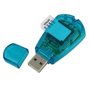 Insten® SIM Card Reader, Blue
