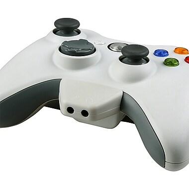 Insten® Headset Converter Adapter For Xbox 360, White