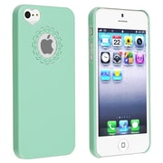 Insten® Hard Plastic Snap-in Case For Apple iPhone 5/5S, Mint Green Sweetheart