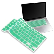 "Insten® Keyboard Skin Shield For 13.3"" MacBook Pro, Ocean Green"