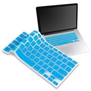 "Insten® Keyboard Skin Shield For 13"" Apple MacBook Pro White/Pro Series, Sky Blue"