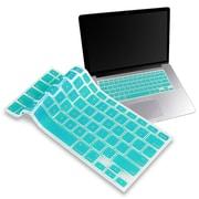 "Insten® Keyboard Skin Shield For 13"" Apple MacBook Pro White, Teal Blue"