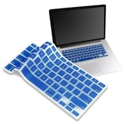 "Insten® Keyboard Skin Shield For 13"" Apple MacBook Pro White/Pro Series, Dark Blue"