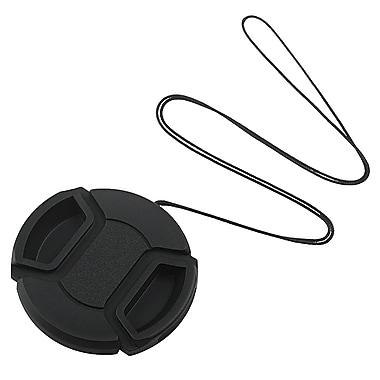 Insten® Camera Lens Cap For 52 mm Filter/Adapter/Lens, Black