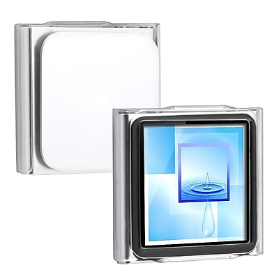 Insten Plastic Snap in Crystal Case For iPod nano 6th Gen Clear