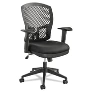 Alera® Flex Back Swivel/Tilt Task Chair, Black