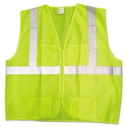 Kimberly-Clark Professional® Premium Vest, Lime/Silver, XL/2X