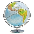 Advantus® 12in. Political World Globe, Blue Oceans