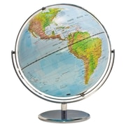 "Advantus® 12"" Physical/Political World Globe, Blue Oceans"