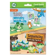 "The Board Dudes LeapFrog® ""Memory Match Up/Sequencing"" Card Game Double Pack, Grade Prek"