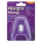 Allegra® 24 Hour Allergy Relief Tablets, 2/Pack