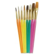 Chenille Kraft Creativity Street Acrylic Handled Brush, 8/Pack (5133)
