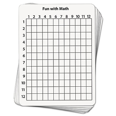 Chenille Kraft Creativity Street® 9in.(W) x 12in.(H) 2 Sided Math Whiteboard
