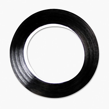 Cosco 98075 Black Tape, 0.25