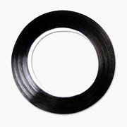 "Cosco 98075 Black Tape, 0.25"" x 324"""