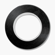 "Cosco 98077 Black Tape, 0.13"" x 324"""