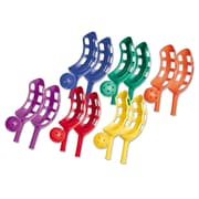 Champion Sports Plastic Scoop Ball Set, 6/Set
