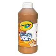 Crayola® 16 oz. Washable Fingerpaint, Brown