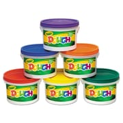 Crayola CYO570016 Assorted Modelling Dough Bucket, 6/Set