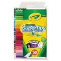 Crayola® Super Tips Washable Markers With Silly Scents, Assorted, 50/Set