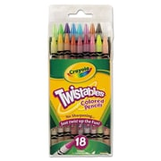 Crayola® 2 mm Twistables Colored Pencils, 18/Set, Assorted