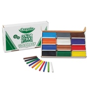 Crayola® Woodless Color Pencils Classpack, 120/Pack, Assorted