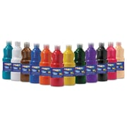 Prang Non-toxic 16 oz. Washable Tempera Paint, 16/Set (10796)