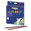Prang® 3.3 mm Groove Colored Pencils, 24/Set, Assorted