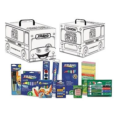 Dixon DIX43107 Ticonderoga Prang White Supply Teacher Kit in Storage Box