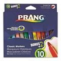 Dixon® Prang Classic Art Markers, Bullet Tip, Assorted, 12/Set