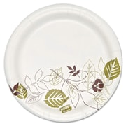 "Dixie Ultra® Pathways 5 7/8"" Heavyweight Paper Plates, White, 1000/Pack"