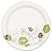 Dixie Ultra® Pathways 5 7/8 Heavyweight Paper Plates, White, 250/Pack