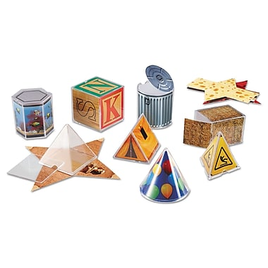Learning Resources® Real World Folding Geometric Shapes, Grade K+
