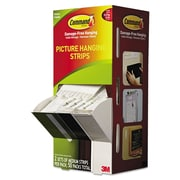 """3M™ Command™ 2.75"""" x 0.75"""" x 0.1"""" Picture Hanging Strip, White"""