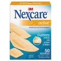 3M™ Nexcare™ Active Waterproof Bandages, 50/Box