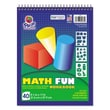 "Pacon® 8 1/2"" x 11"" Math Fun! Workbook, 40 Sheets"