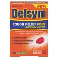 Delsym® Cough+™ Soothing Action Lozenges, Sugar Free Cherry, 16/Pack