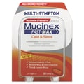 Mucinex® Fast-Max™ Cold and Sinus Adult Caplets, 30/Pack