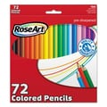 RoseArt® Classic Colors Colored Pencil, Assorted, 72/Set