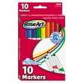 RoseArt® Supertip Washable Markers, Broad/Fine Tip, Assorted, 10/Set