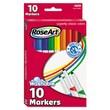 RoseArt® Supertip Washable Markers, Broad/Fine Tip, Assorted, 10/Set
