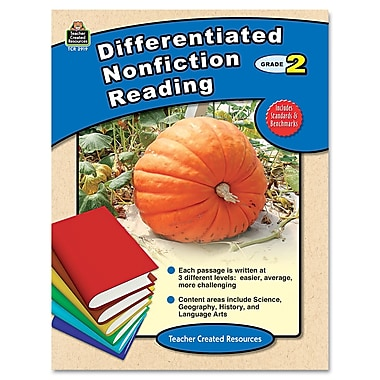 Teacher Created Resources in.Differentiated Nonfiction Readingin. Book, Grade 2