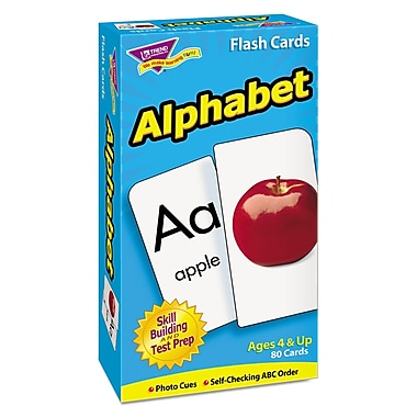 Trend Enterprises® in.Alphabetin. Skill Drill Flash Card, Grade Prek-1
